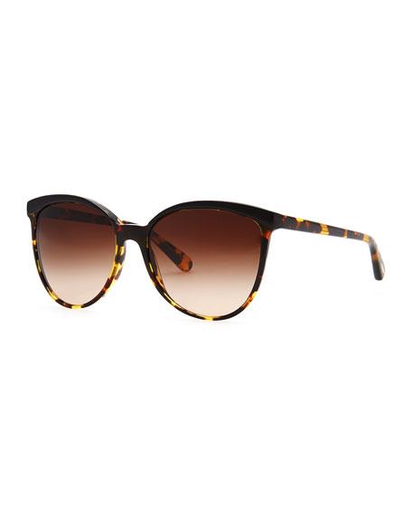 Ria Oversized Sunglasses, Tortoise