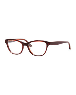 Oliver Peoples Lorell Rouge Optical Frames, Red