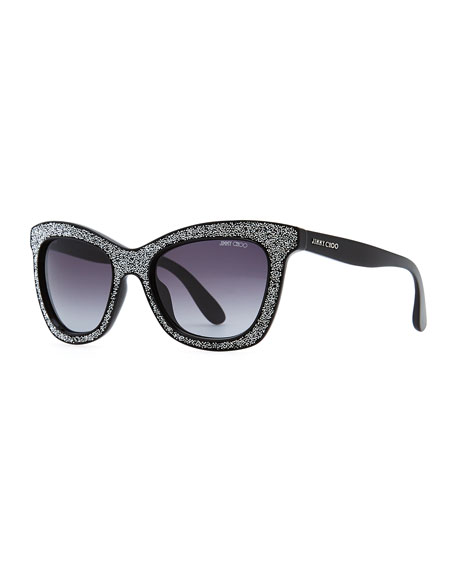 94aedcde2ef5 Jimmy Choo Flash Crystal Sunglasses