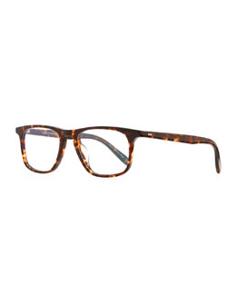 Oliver Peoples Meier 51 Fashion Glasses, Brown Tortoise