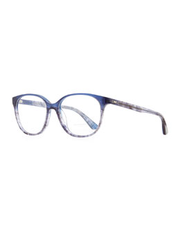 Oliver Peoples Rita 52 Fashion Glasses, Blue