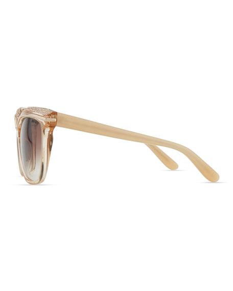 9083bede7c70 Jimmy Choo Sophia Embellished Sunglasses