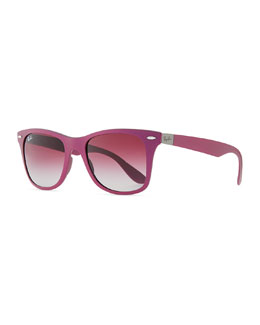 Ray-Ban Lite Force Square Sunglasses, Violet