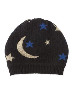 Diane von Furstenberg Moon & Stars Knit Hat