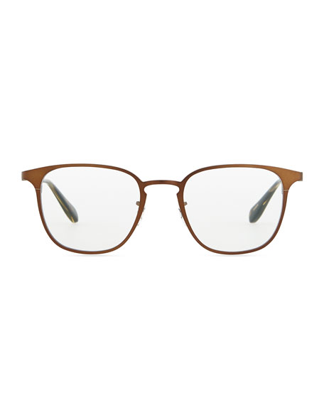 Pressman Round Fashion Glasses, Bronze