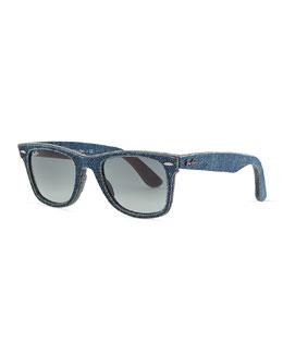 Ray-Ban Blue Denim Wayfarer Sunglasses