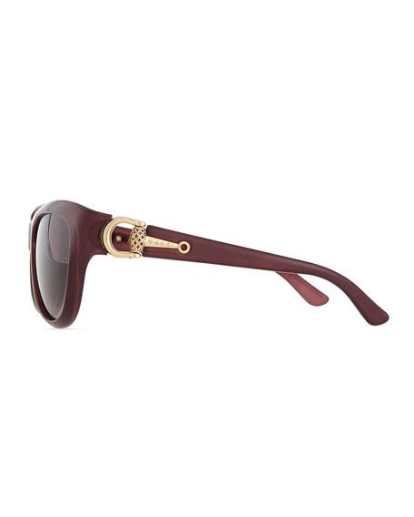 cdebcf6440d Gucci Sunsights Cat-Eye Diamantissima Sunglasses