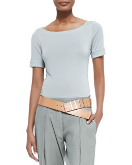 Graduated Leather Hip Belt