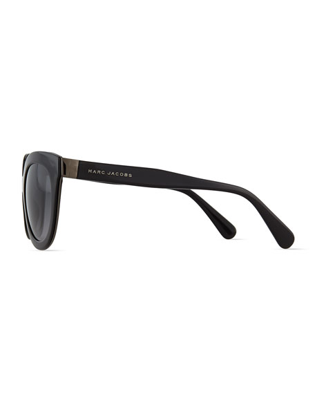 Thick Plastic Sunglasses, Black