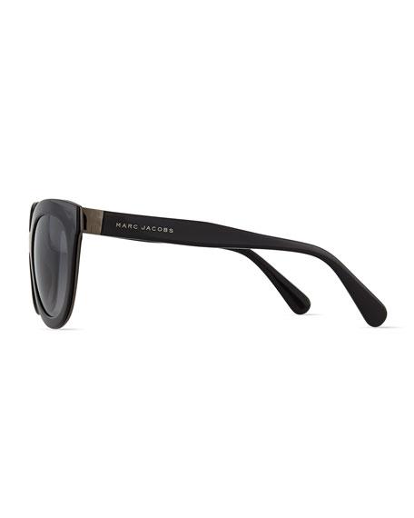 Thick Plastic Sunglasses, Black