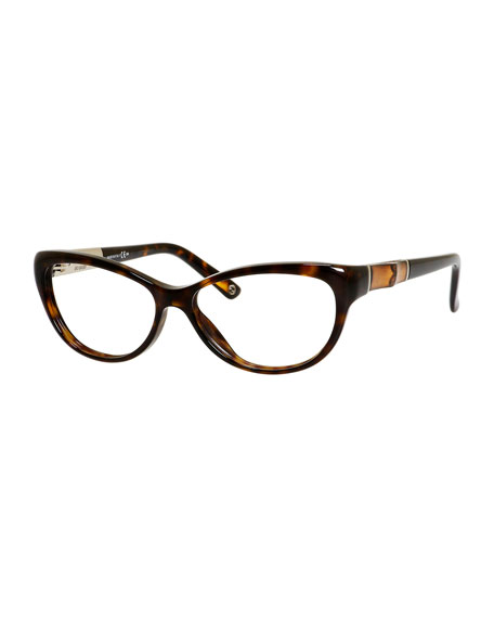54088b3032b54 Gucci Cat-Eye Fashion Glasses with Bamboo