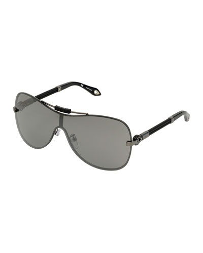 Flash Shield Sunglasses, Gunmetal