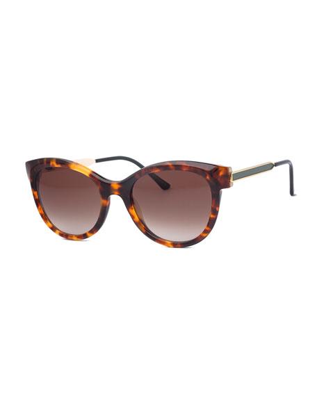 Flirty Butterfly Sunglasses, Havana