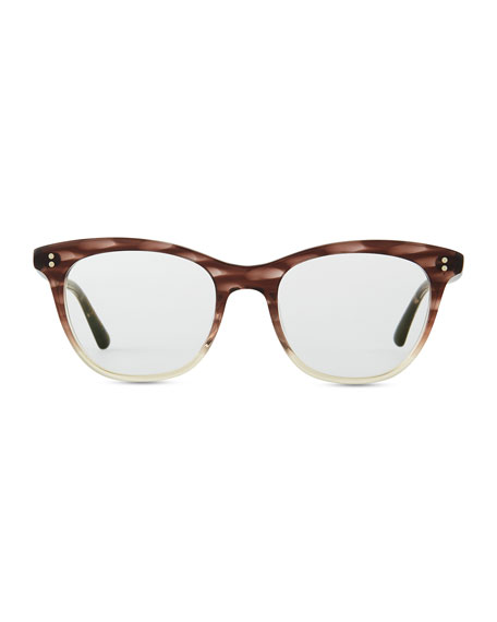 Jardinette Acetate Fashion Glasses, Henna