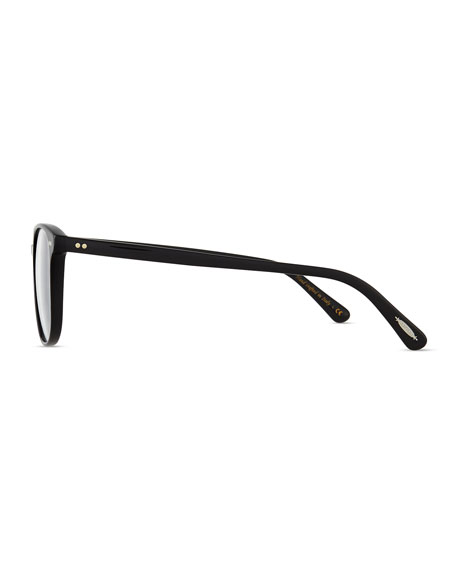 Scheyer Oval Fashion Glasses, Black