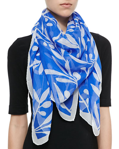 Olive Branch Printed Scarf