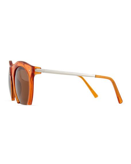 Foundry Cutoff Sunglasses, Sepia