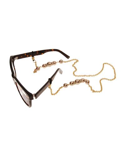 Cadabra Eyeglass Chain w/Beads
