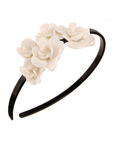 Giverny Rose Acetate Headband