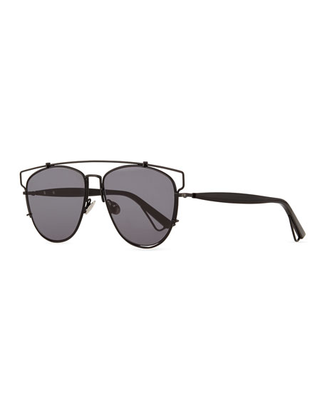 9d142ec904 Dior Technologic Cutout Aviator Sunglasses