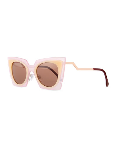 Runway Cat-Eye Sunglasses