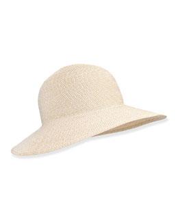 Squishee IV Floppy Hat, Cream