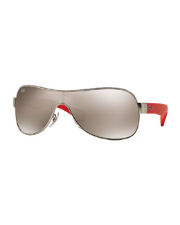 Mirror Shield Sunglasses