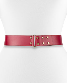 Hale Leather Snap Belt