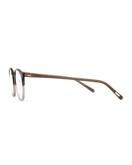 O'Malley Round Fashion Glasses, Gray Fade