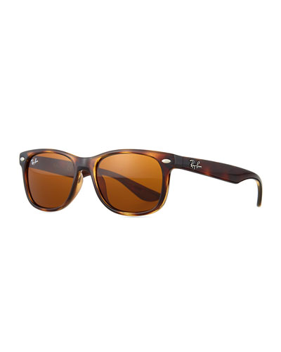 Children's Havana Wayfarer Sunglasses