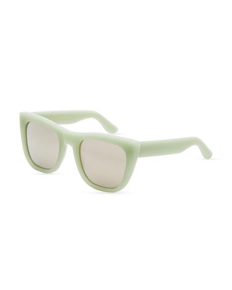 Gals Square Sunglasses, Ciao  (Green)