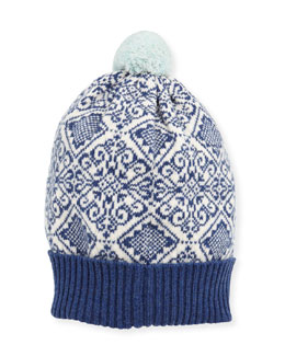 Nordic Cashmere Knit Beanie