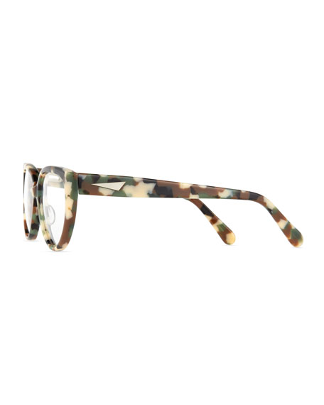 c4ea0893943 Prism Cannes Cat-Eye Plastic Fashion Glasses