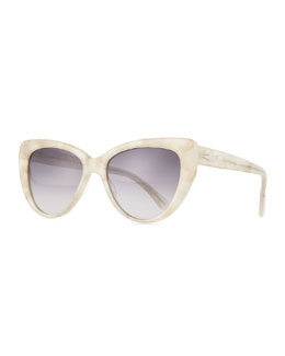 Capri Cat-Eye Sunglasses