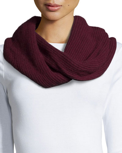 Cynthia Ribbed Infinity Scarf