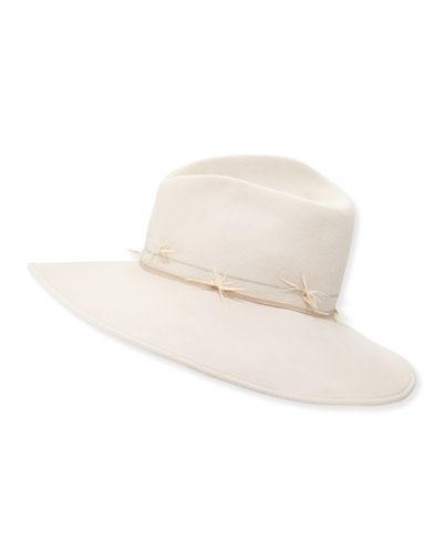 Drake Felt Hat, Tan