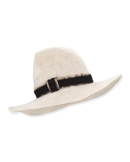 Stevie Felted Hat, Tan