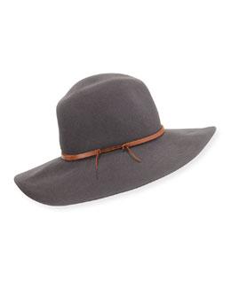 Winter Wrapped Wool Felt Hat