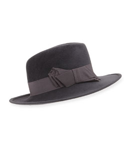 Raiders Trilby Hat w/Band and Bow