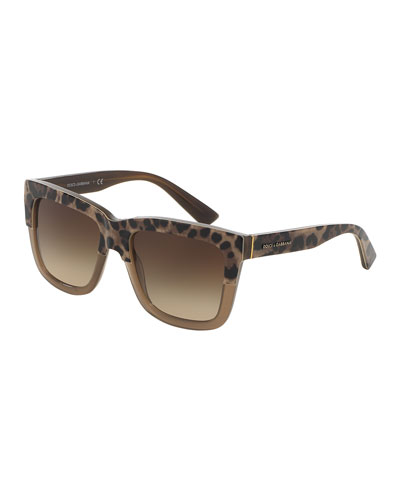 Animalier Dual-Color Sunglasses