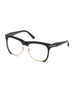 Dual-Rimmed Fashion Glasses