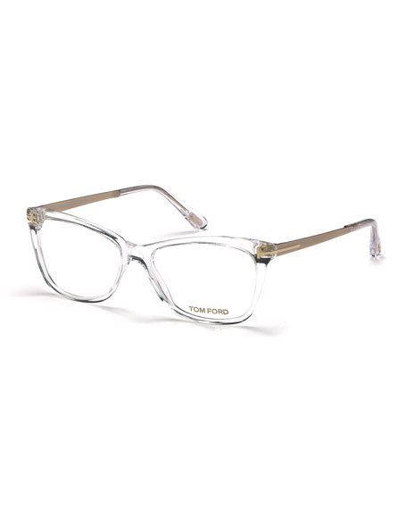 TOM FORD Slight Cat-Eye Fashion Glasses