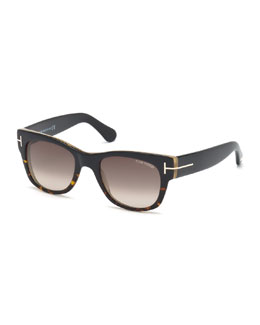Cary Havana-Detail Sunglasses