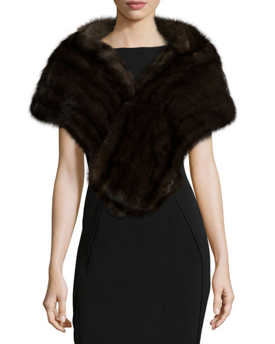 Sable Fur Cape, Uptone