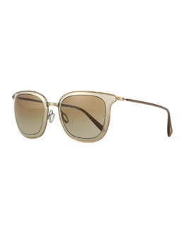 Annetta Butterfly Sunglasses, Pewter