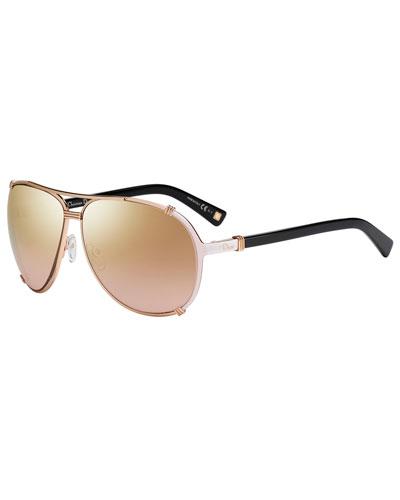 Chicago 2 Aviator Sunglasses
