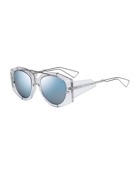 Edition Acetate Experience Limited Metalamp; Mirrored Sunglasses 3RjLAq54