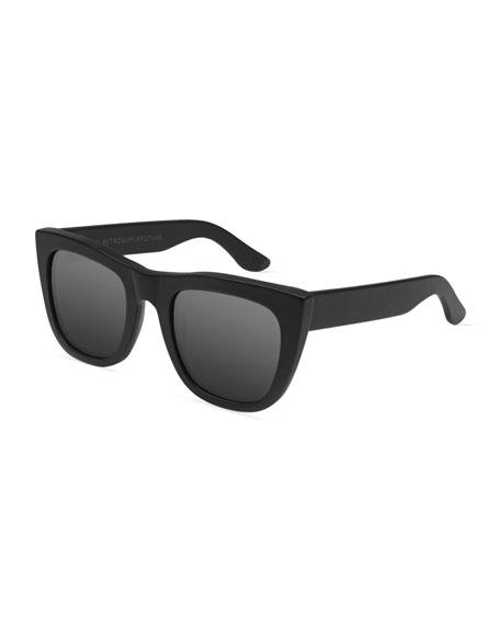 Gals Mirrored Sunglasses, Black