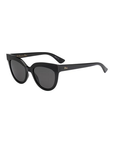 Soft 1 Square Sunglasses, Black