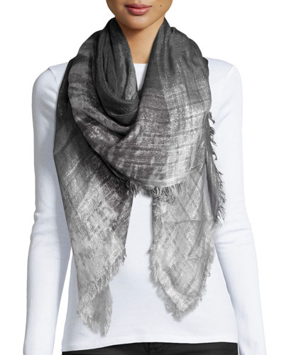 Fatalita Ombre Scarf, Charcoal